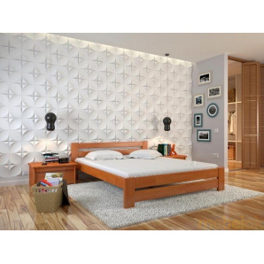 Двоспальне ліжко Симфонія сосна 180х200