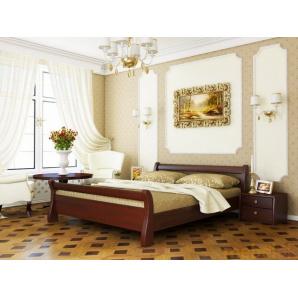 Ліжко Діана 140х190 Естелла з бука щита