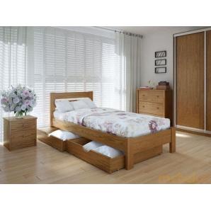 Ліжко Еко плюс 90х200 ясен