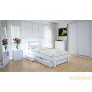 Ліжко Вілідж 90х200 ясен