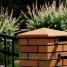 Клинкерная крышка на забор KingKlinker Пустынная роза тон (11) 310х310х80