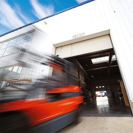 Автоматические ворота для производств и складов ALUTECH ProPlus 4000×4000 мм