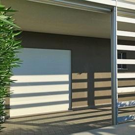 Автоматические рулонные ворота для гаража ALUTECH 2800x2100 мм