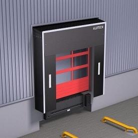 Герметизатор проема ALUTECH DSF 3400х3400 мм для обслуживания стандартной Еврофуры
