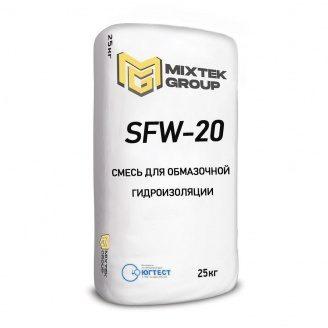 Суміш для виконання обмазувальної гідроізоляції SFW-20 25 кг
