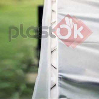 Крепление тепличное для пленки клипса зиг-заг 0,55 мм профиль оцинкованный