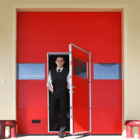 Промышленные ворота ALUTECH ProTrend 2875×3000 мм