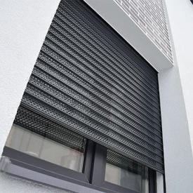 Автоматические роллетные решетки с мелкой перфорацией ALUTECH Security 1700×2200мм