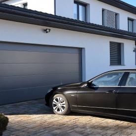 Автоматические секционные гаражные ворота ALUTECH Prestige 2750×2500 мм