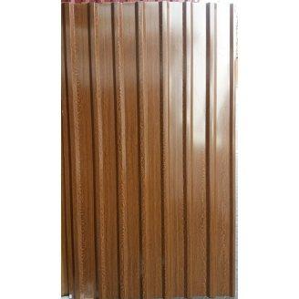 Профнастил ПП-20 2000x1150x0,3 мм рисунок дерева