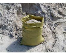 Пісок річковий в мішках по 30 л