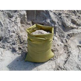 Песок речной в мешках по 30 л