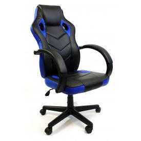 Крісло офісне компьютерное 7F RACER EVO синє