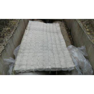 Мат мінераловатний М60-СХ1 прошивний обкладка стеклохолст 2000х1000х100 мм