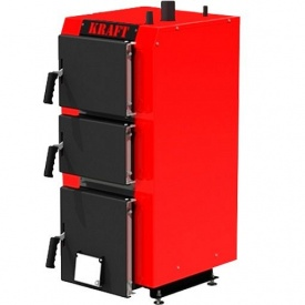 Котел длительного горения 25 кВт KRAFT S25 сталь 5 мм