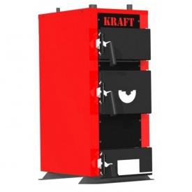 Твердопаливний котел 24 кВт KRAFT E new традиційного горіння сталь 5 мм