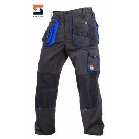 Штани захисні робочі SteelUZ з синім оздобленням