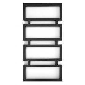 Дизайнерський водяною полотенцесушитель Genesis-Aqua Quattro 120x53 см