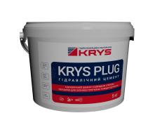 Швидкосхоплюючий гідравлічний цемент KRYS PLUG 5 кг