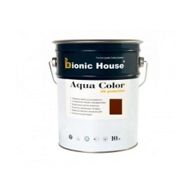 Акриловая лазурь + антисептик Bionic-House AQUA COLOR 10 л