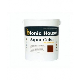 Акриловая лазурь + антисептик Bionic-House AQUA COLOR 2,5 л