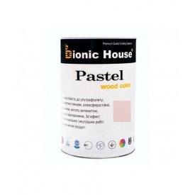 Акриловая лазурь+антисептик Bionic-House Pastel Wood Color 1,0 л пастельные тона