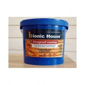 Огнебиозащитная краска Bionic-House FIREPROOF COATING 5 л