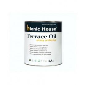 Масло террасное Bionic-House TERRACE OIL 2,8 л