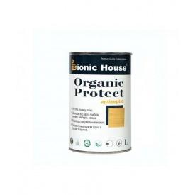 Масло для дерева + антисептик Bionic-House ORGANIC PROTECT OIL 1 л