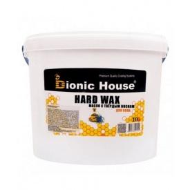Масло с твердым воском Bionic-House для паркета Hard wax oil 10 л