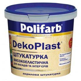 Штукатурка короед 2мм DecoPlast 25 кг