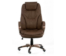 Офісне крісло Special4You Bayron 1150-1250х540х560 мм коричневе