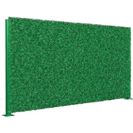 Будівництво паркану зеленого ПВХ