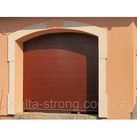 Ворота гаражные секционные Alutech металлические