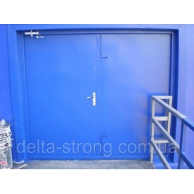 Ворота протипожежні Дельта ЕІ-60 метал скло