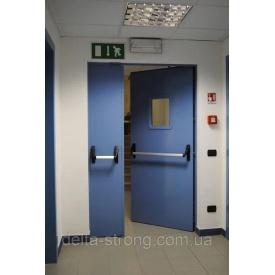 Двері протипожежні Дельта ЕІ-30 метал огнупорное скло