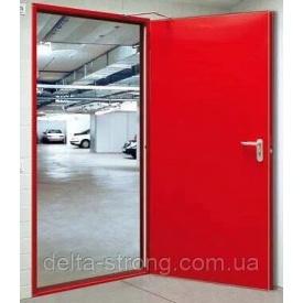 Двери противопожарные Дельта ЕІ-60 листовой металл огнестойкое стекло