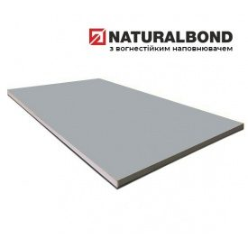 Алюмінієвий композитна панель Naturalbond зразок формату А4 4/0,4 мм