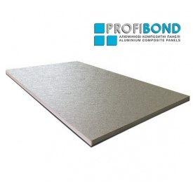 Алюминиевая композитная панель Profibond 1500х5600х4/0,3 мм яркое серебро