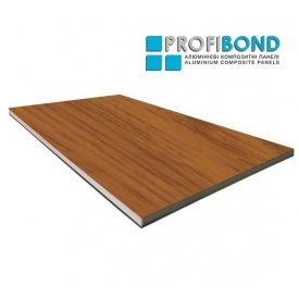 Алюминиевая композитная панель Profibond 1500х5800х4/0,4 мм светлое дерево