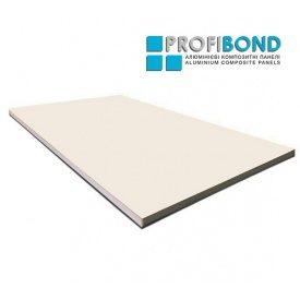 Алюминиевая композитная панель Profibond 1250х5600х4/0,4 мм бежевый (RAL 1015)