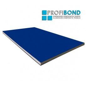 Алюмінієва композитна панель Profibond 1250x5600х4/0,4 мм синій (RAL 5005)