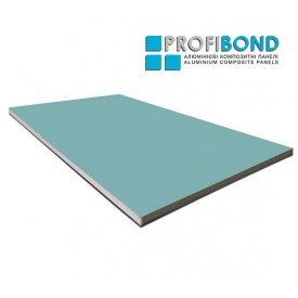Алюмінієва композитна панель Profibond 1500x5800х4/0,5 мм пастельний бірюзовий (RAL 6034)