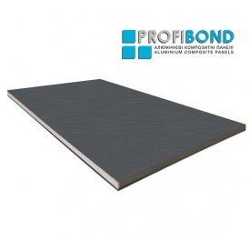 Алюминиевая композитная панель Profibond 1250х5000х4/0,5 мм Metallic Dark Grey