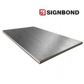 Алюминиевая композитная панель Signbond 1250х3200х4/0,23 мм Brush Natural