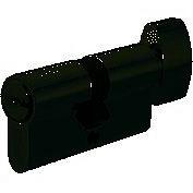 Цилиндр для замка MVM P6P 60 30х30т ключ-тумблер полированный хром