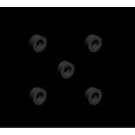 Mantion комплект из 5 дистанцирующих втулок для дверей 42-52 мм