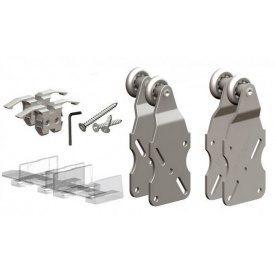 Ролики HORUS для раздвижной системы шкафа-купе для 2-ух дверей до 45 кг