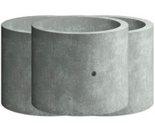 Кольцо стеновое Elit Beton КС 10.3 железобетонное 1000х300 мм