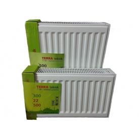 Стальной радиатор TERRA teknik 22 500x600